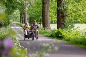 vrijwilligerswerk - wandelen of fietsen